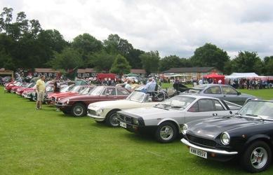 Beaumanor Hall Classic Car Show